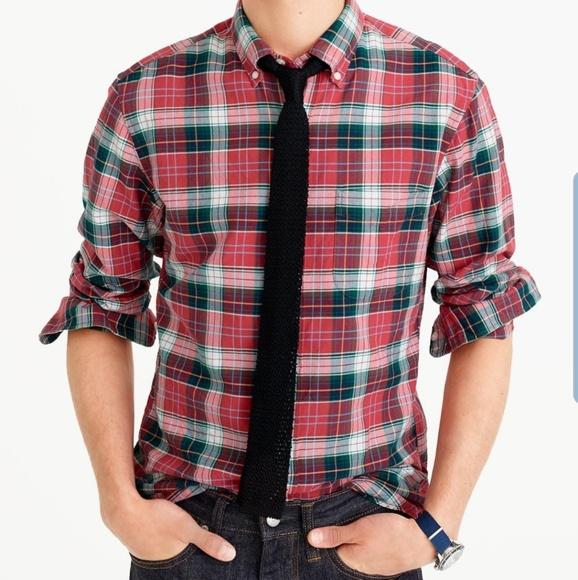 J Crew All Cotton Classic Fit Oxford Shirt sz L